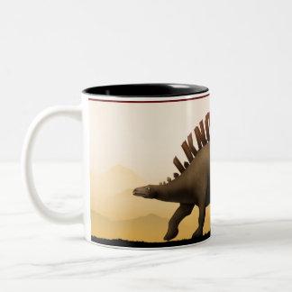 HTML Dinosaur Two-Tone Coffee Mug