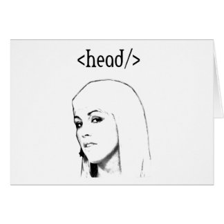 Html head tags card