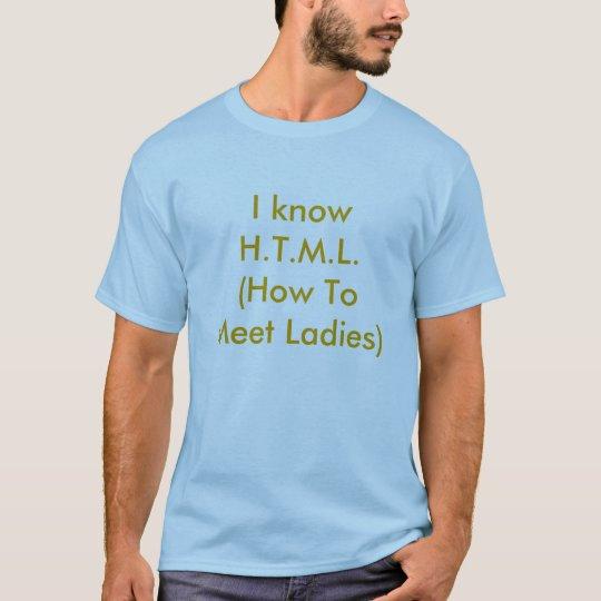 HTML T Shirt