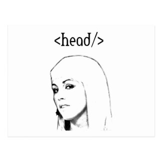 Html table head post cards