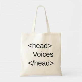 HTML-Voces divertidas adentro </head> Bolsa