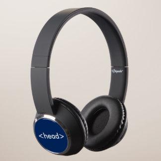 HTML Web Designer Code Head Tag Headphones