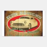 HTR Designs Barely Legal Kustoms Garage Sticker