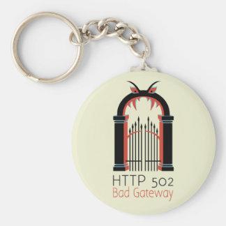 HTTP 502 Bad Gateway Keychains
