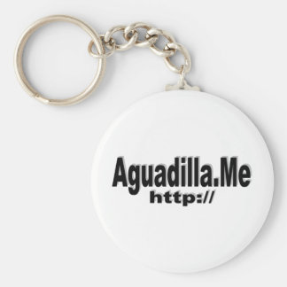 http://Aguadilla.ME Social Network group Basic Round Button Keychain