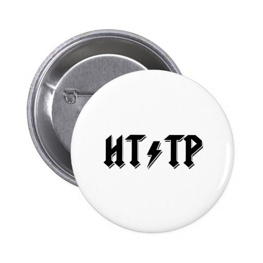 HTTP del estilo de AC/DC Pin Redondo 5 Cm