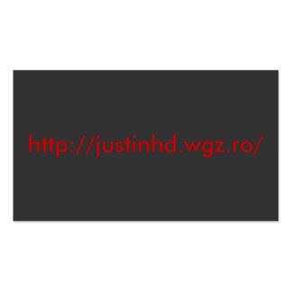 http://justinhd.wgz.ro/ tarjetas de visita