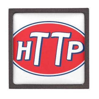 HTTP Webmaster Parody Logo Premium Trinket Box