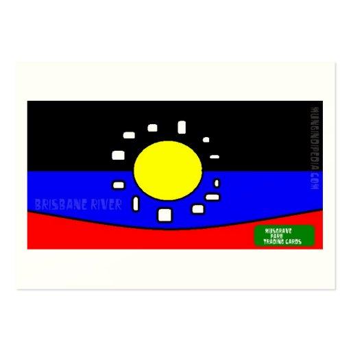 http://www.zazzle.com/Australian_art Large Business Card