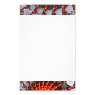 http://www.zazzle.com/orange_fractal_spider_web-25 stationery