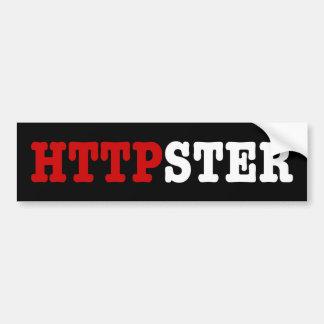 HTTPSTER BUMPER STICKER