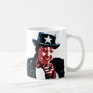 Hu Are You by Chris Hu Coffee Mug