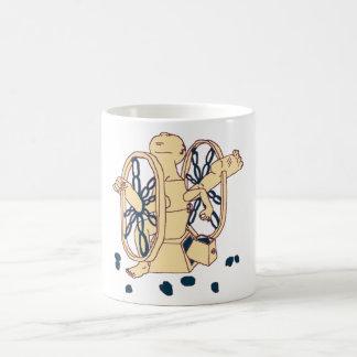 HU-GRINDER Human x Coffee Bean Grinder Coffee Mug