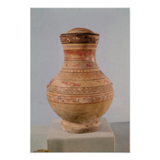 Hu' vase with lid poster