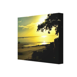 Hua Hin Sunset Canvas Canvas Print