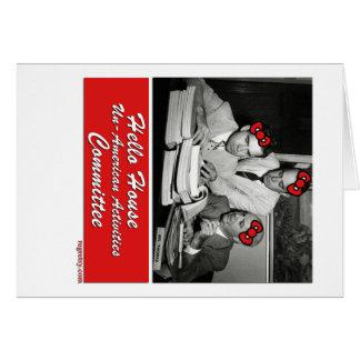 HUA-v2 Greeting Card