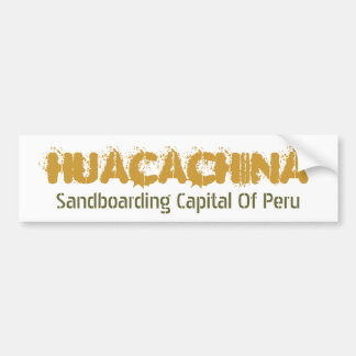 Huacachina Bumper Sticker