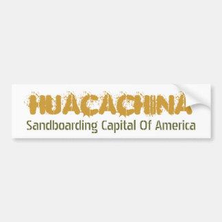 Huacachina Car Bumper Sticker
