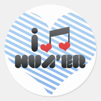 Hua'Er Round Stickers