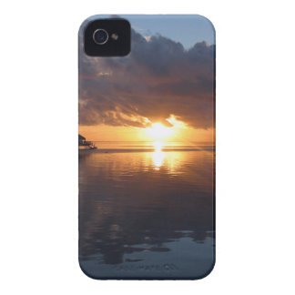 Huahine Sunset iPhone Case iPhone 4 Case-Mate Case
