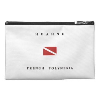 Huahne French Polynesia Scuba Dive Flag Travel Accessory Bag
