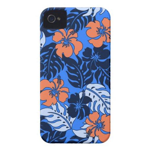 Huakini Bay Hawaiian Hibiscus iPhone 4 Cases