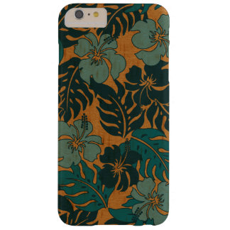 Huakini Bay Hawaiian Hibiscus Vintage Faux Wood Barely There iPhone 6 Plus Case