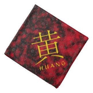 Huang Monogram Bandana