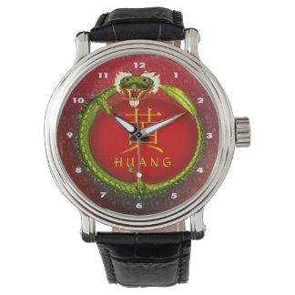 Huang Monogram Dragon Wrist Watch