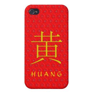 Huang Monogram iPhone 4 Covers