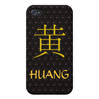 Huang Monogram Cases For iPhone 4