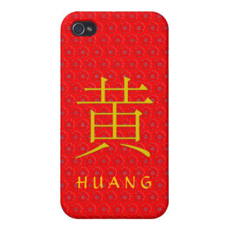 Huang Monogram Case For iPhone 4