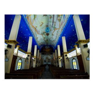 Huatulco church 1 postcard