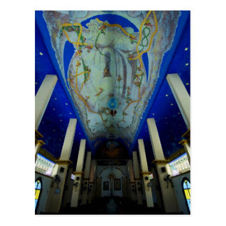 Huatulco church 2 postcard
