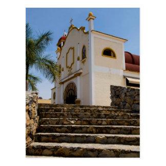 Huatulco church 4 postcard