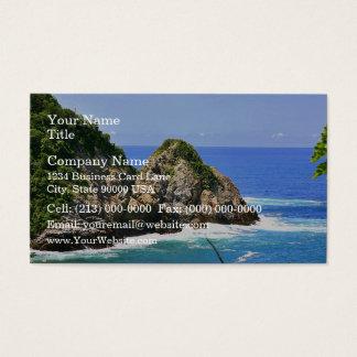 Huatulco coastline business card