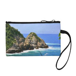 Huatulco coastline coin purse