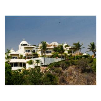 Huatulco hotel postcard