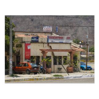 Huatulco street 3 postcard