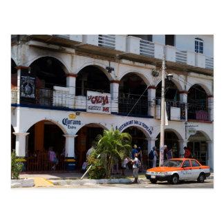 Huatulco street 6 postcard