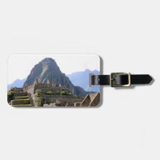 Huayna Picchu Mountain - Machu Picchu Ruins Tag For Bags