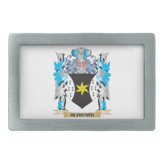 Hubbard Coat of Arms - Family Crest Rectangular Belt Buckles