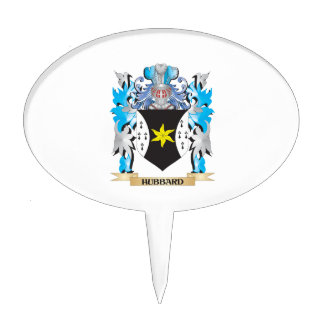 Hubbard Coat of Arms - Family Crest Cake Picks