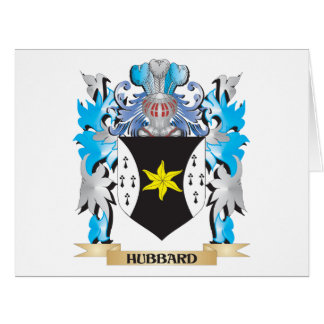 Hubbard Coat of Arms - Family Crest Card