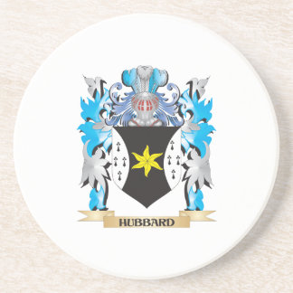 Hubbard Coat of Arms - Family Crest Drink Coaster