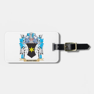 Hubbard Coat of Arms - Family Crest Tag For Bags