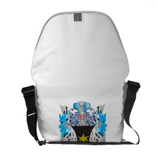 Hubbard Coat of Arms - Family Crest Courier Bags