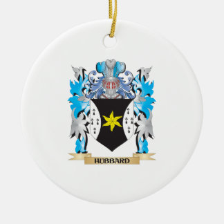 Hubbard Coat of Arms - Family Crest Christmas Tree Ornaments