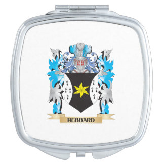 Hubbard Coat of Arms - Family Crest Mirror For Makeup