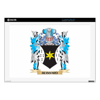 Hubbard Coat of Arms - Family Crest Laptop Decal